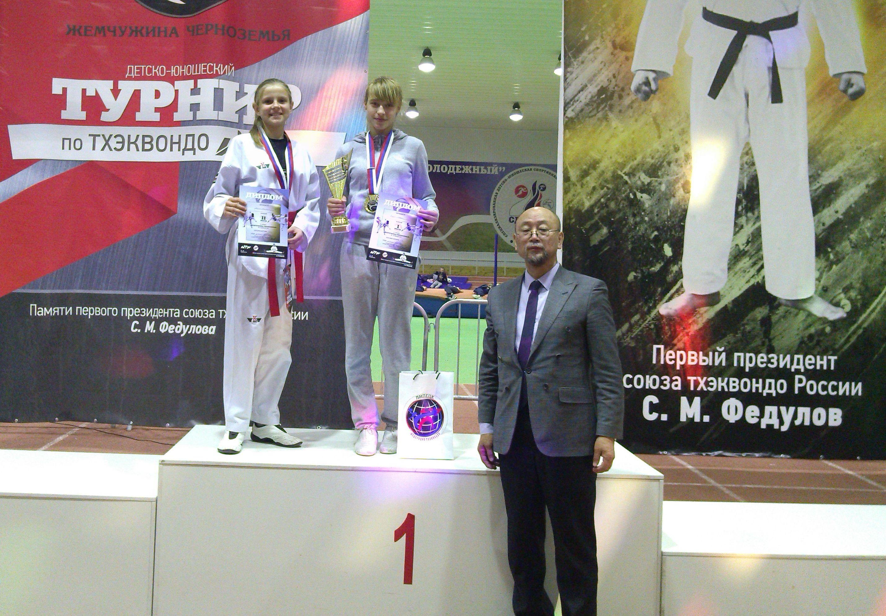 Ангелина Лопуть (слева) завоевала серебряную медаль