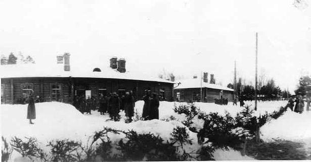 Мікалай ІІ у  Стаўцы Вярхоўнага Галоўнакамандуючага. 23-25.01.1915