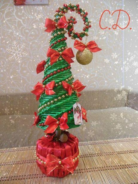 Новогодняя елочка Светланы Дедович. Фото из архива автора.