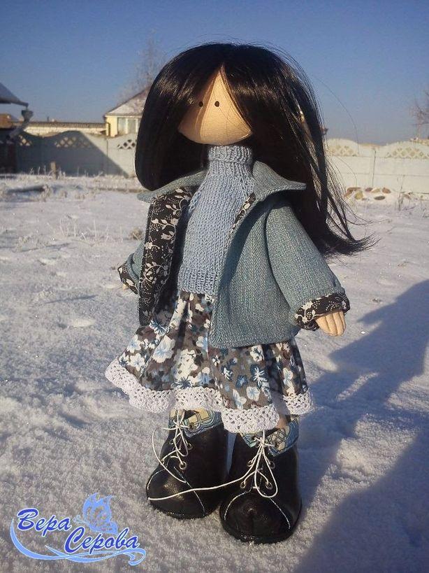 Кукла. Автор – Вера Серова. Фото из архива автора.