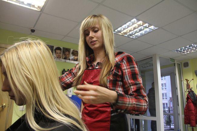 Анна Потоцкая, парикмахер