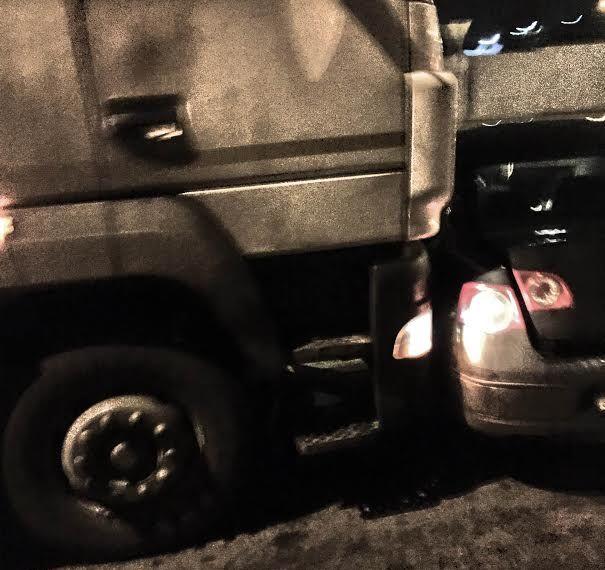 В результате ДПТ никто не пострадал. Фото: Януш ФЕШТЕР