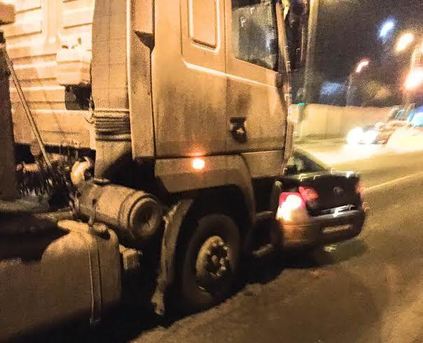 Авария на пр. Советском 17 декабря. Фото: Януш ФЕШТЕР