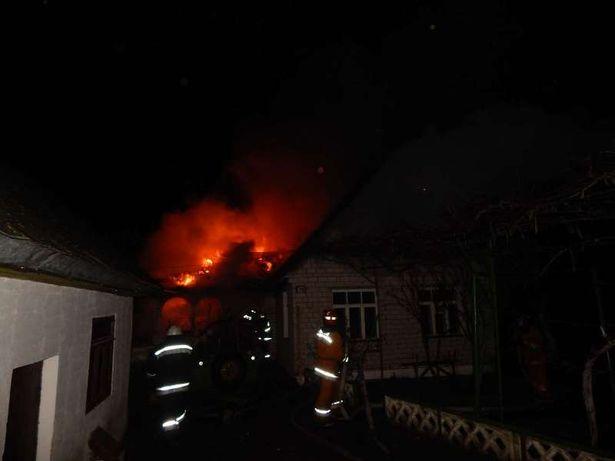 Возгорании жилого деревянного дома на Профессиональном переулке
