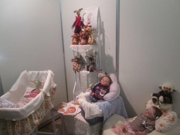 Стенд кукольницы Ирины Кветковской. Фото: Татьяна НЕКРАШЕВИЧ.