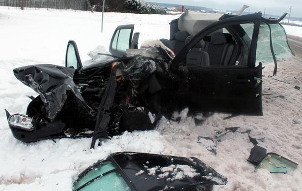 Страшная авария произошла в Новогрудском районе