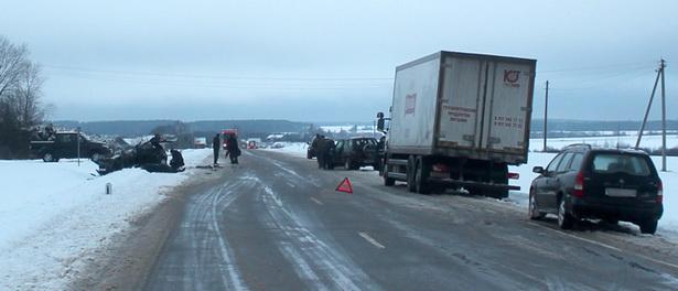 Страшная авария произошла в Новогрудском районе. Фото с сайта Следственного комитета РБ