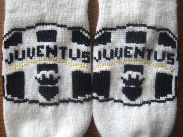Носки для болельщика клуба Ювентус. Фото из архива мастера.