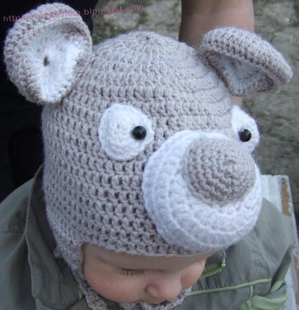 Детская шапочка. Фото из архива мастера.