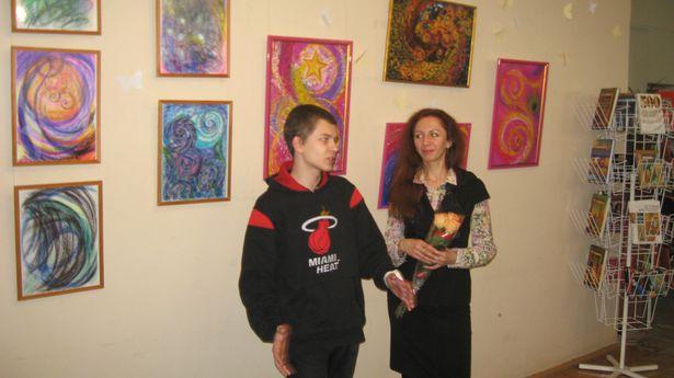 Вольга Вайцяхоўская з сынам