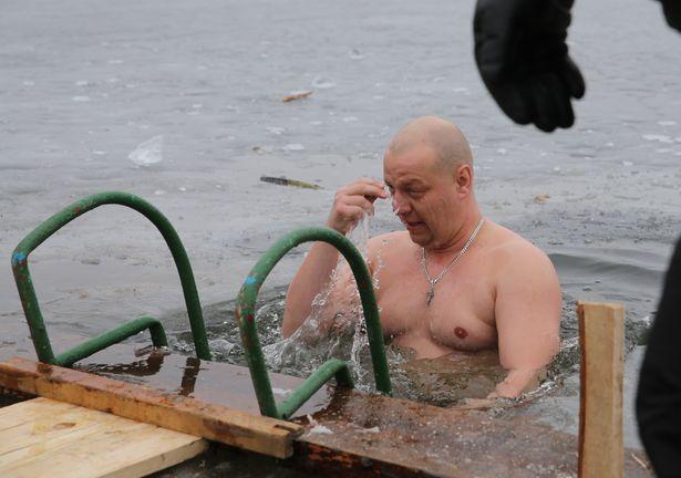 Крещенские купания в Барановичах