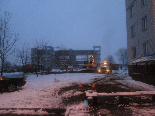 Место аварии. Фото: Татьяна НЕКРАШЕВИЧ.
