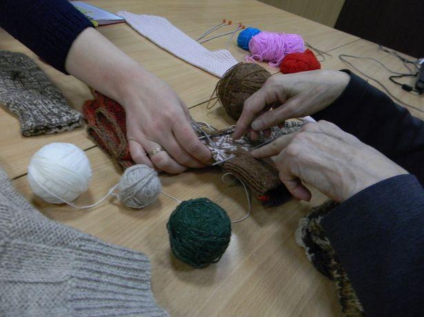 Валентина Меньшикова делится особенностями разных видов вязания