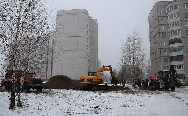 Место аварии. Фото: Дмитрий МАКАРЕВИЧ.