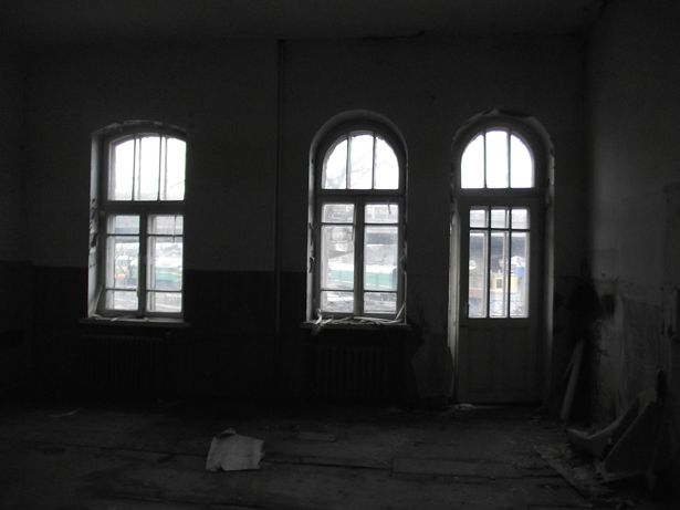 В одной из комнат здания бывшего акцизного управления 1902 г. постройки. Фото со страницы пользователя соцсетей под ником Кислотный ожог.