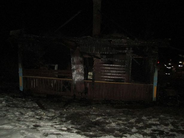В деревне Важгинты на пожаре погиб мужчина. Фото: Барановичский ГРОЧС