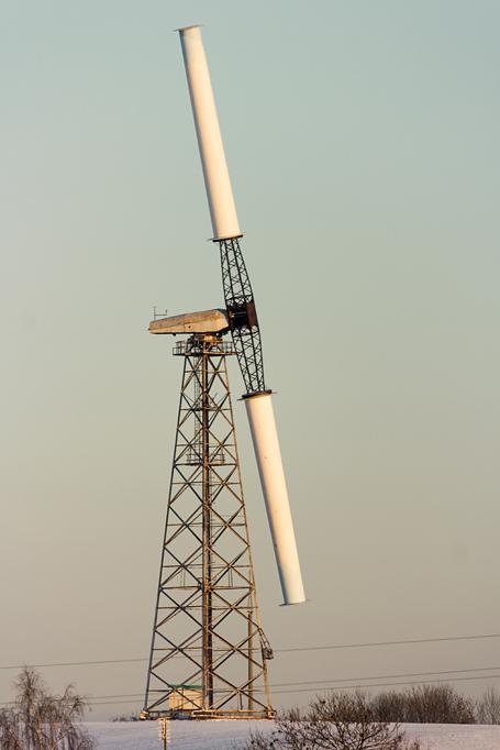 Энергоустановка ВЭУ-250.  Фото: Юрий ПИВОВАРЧИК