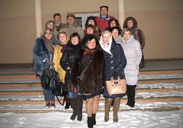 Выпуск-1985 барановичской средней школы №4 на встрече в феврале 2015 года. Фото: Игорь РУБАН