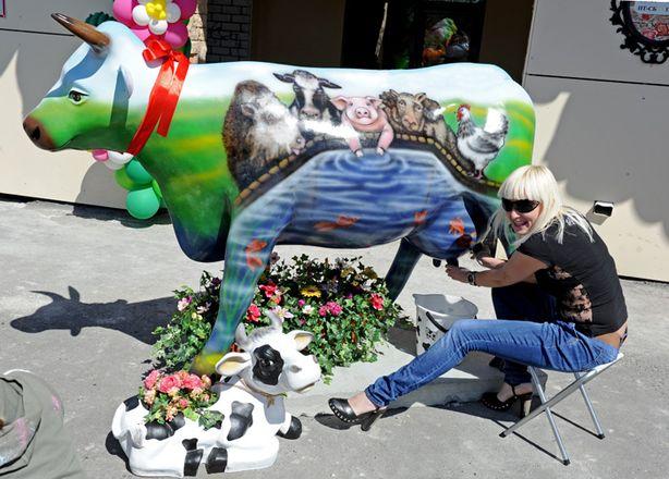 Памятник в Челябинске. Фото из соцсетей.