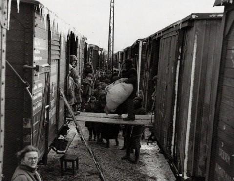 Послевоенная депортация из БССР. Фото: с сайта http://kresy24.pl