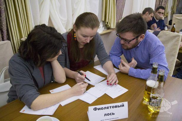 В Барановичах прошла вторая Мозгобойня. Фото: группа ВК МозгоБойня в Барановичах https://vk.com/mozgoboj_bar