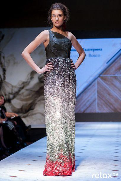 Платье Екатерины Занько. Фото: mag.relax.by