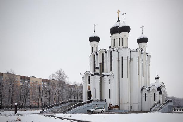 Храм Святого благоверного князя Александра Невского. Фото: Юрий ПИВОВАРЧИК