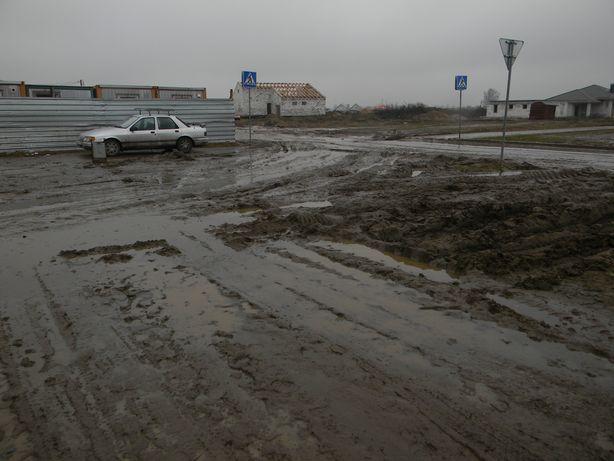 Стройка. Въезд. Фото: Татьяна НЕКРАШЕВИЧ.
