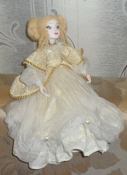Авторская кукла. Мастер Екатерина Пинаева. Фото из архива автора.
