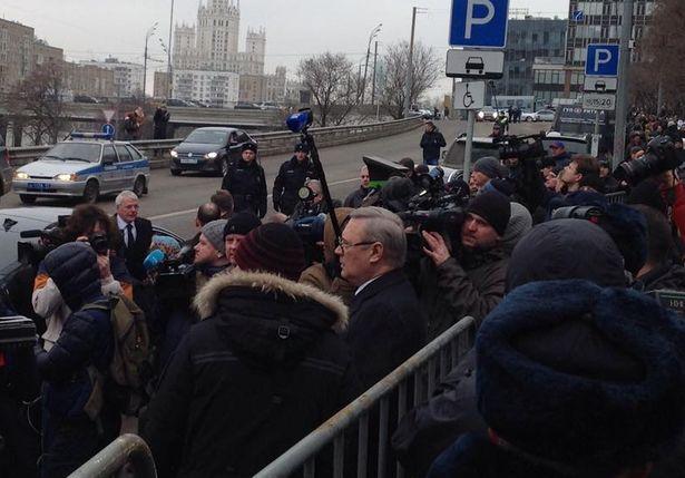 Михаил Касьянов встречает дипломатов