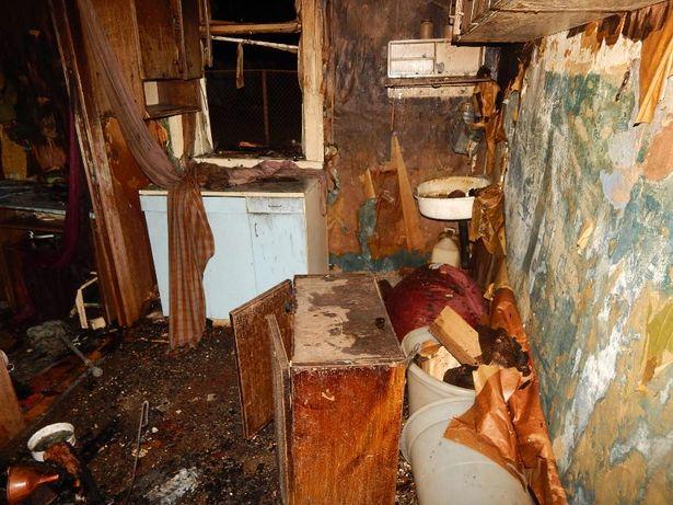 Огнем повреждено имущество в доме. Фото:  БАРАНОВИЧСКИЙ ГРОЧС