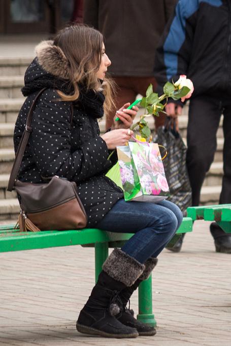 Цветы и женщины