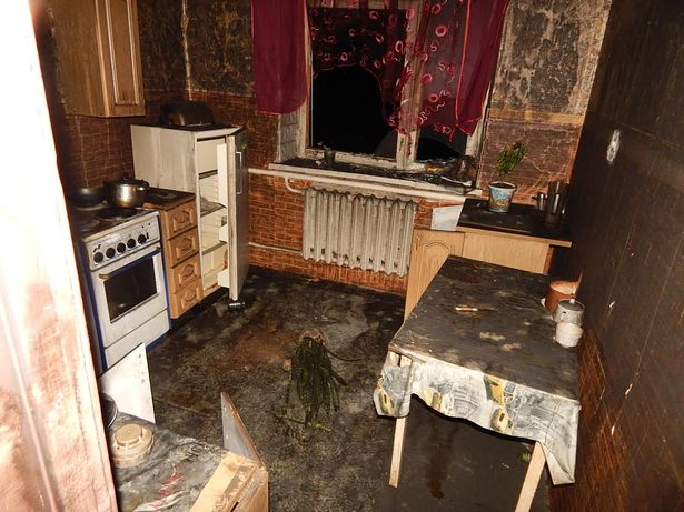 На пожаре в Городище погибла женщина