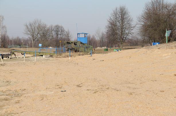 Обустройство пляжной зоны. Фото: Александр ТРИПУТЬКО