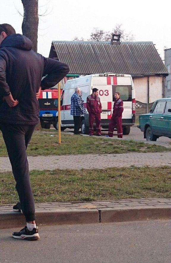 На месте происшествия, 25 марта. Фото: Диана БЕЛОВА https://instagram.com/