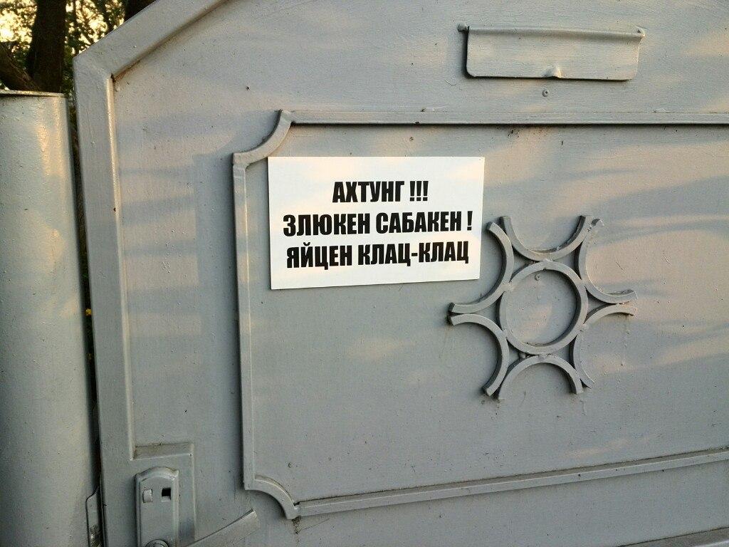 Фото прислал читатель Дмитрий КАРАЧУН