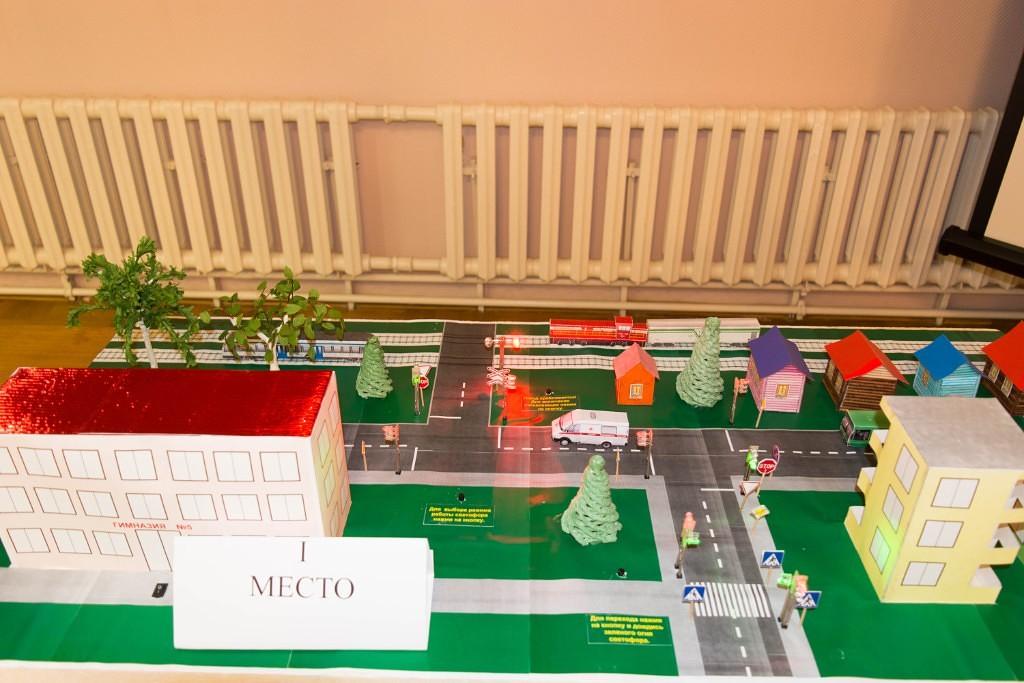 Конкурсный макет. Фото: из архива учащихся 2 класса гимназии № 5