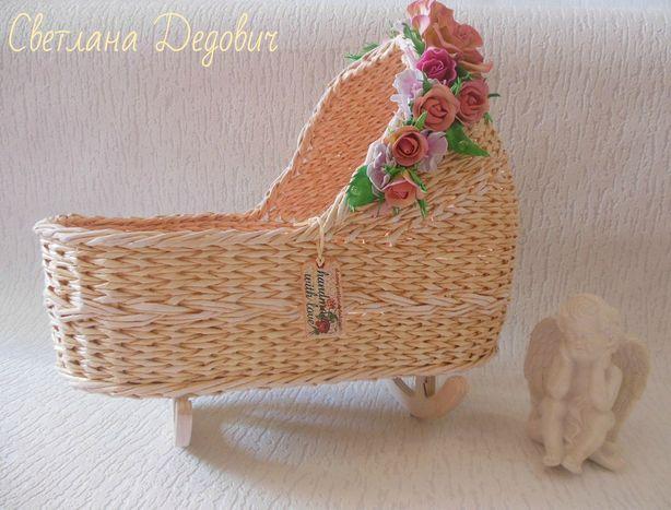 Колыбель для куклы. Фото из архива Светланы Дедович.