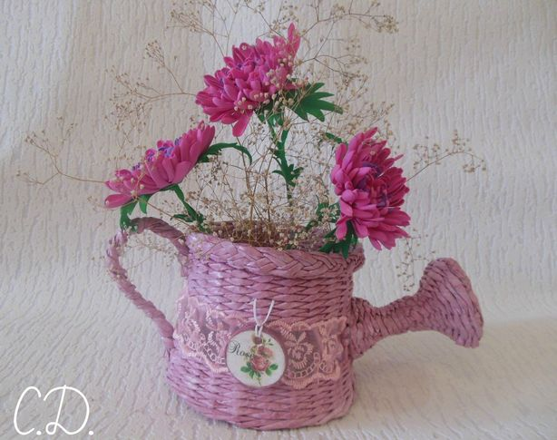 Кашпо для цветов. Фото из архива Светланы Дедович.