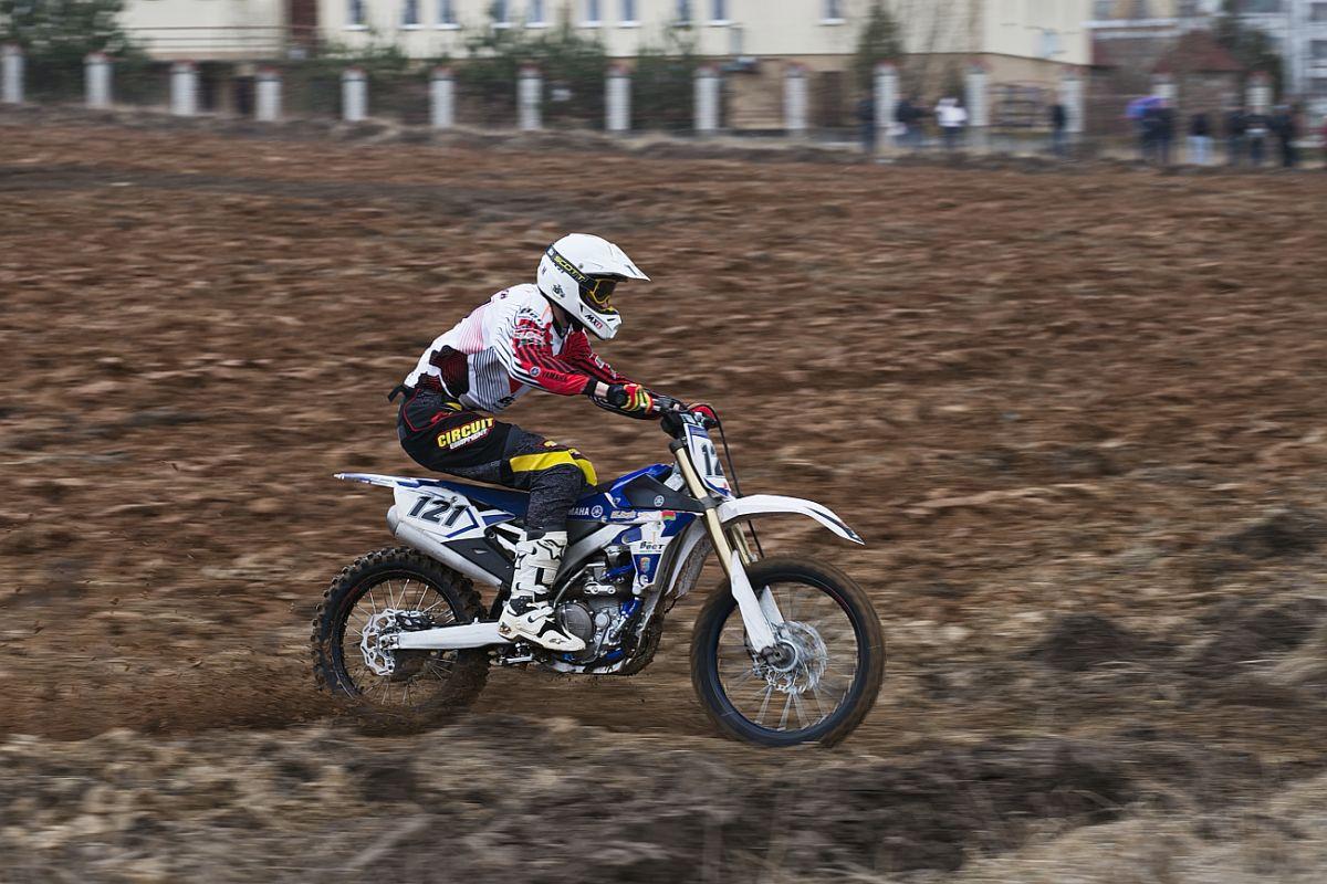 Выступление чемпиона Беларуси по мотокроссу Артема Кунцевича