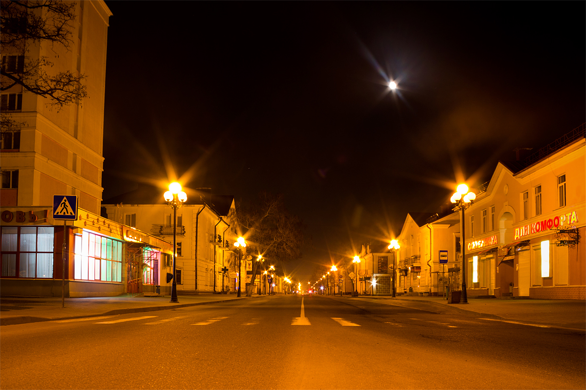 Ночные Барановичи