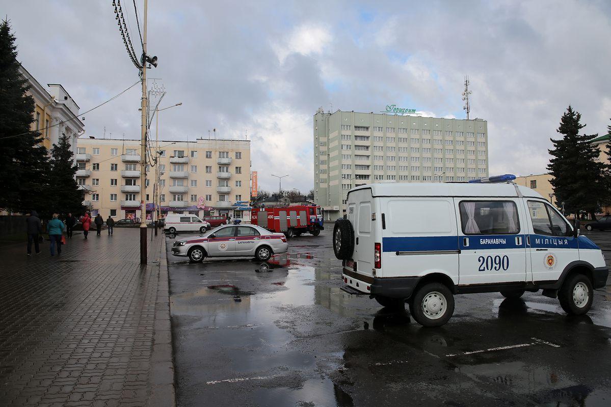 Движение по площади Ленина возобновилось в 10:15 утра