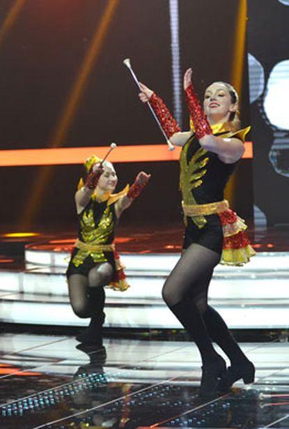 Барановичские мажоретки выступят в последнем полуфинале шоу «Я могу!». Фото:  БЕЛТЕЛЕРАДИОКОМПАНИЯ