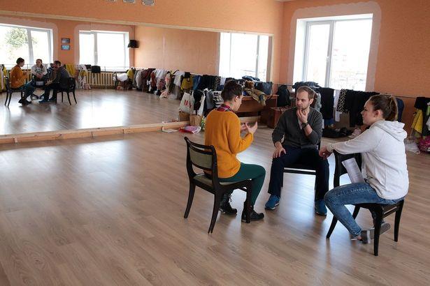 Репетиция театра из Бремена Studio 11