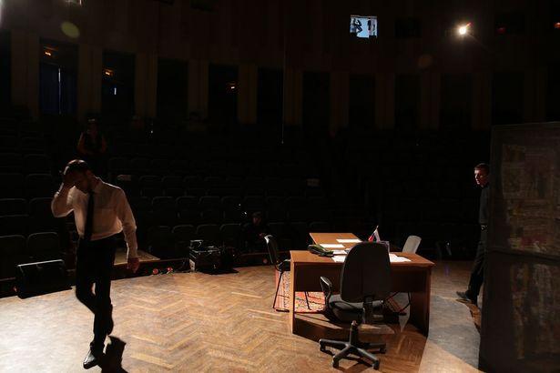 Последняя репетиция театра Ирбис перед выходом на сцену