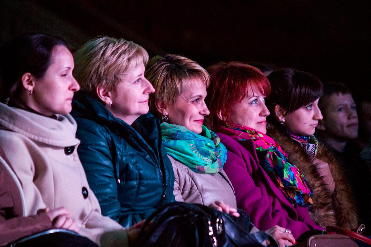 Выступление шоу-балета «Тодес» в Барановичах