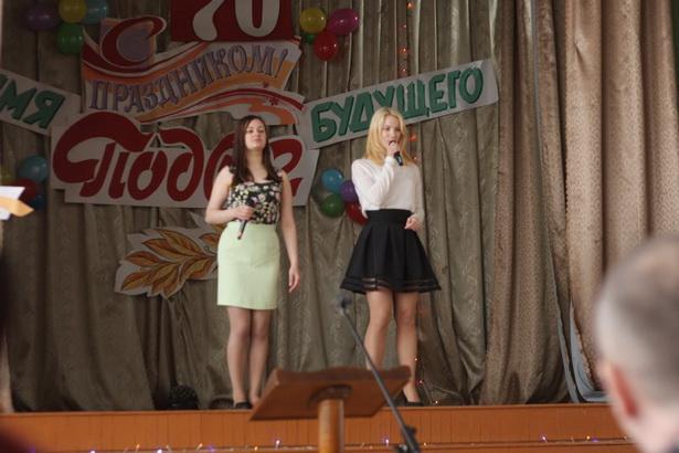 Музыкальное поздравление участников конкурса от учащихся Барановичского лицея строителей