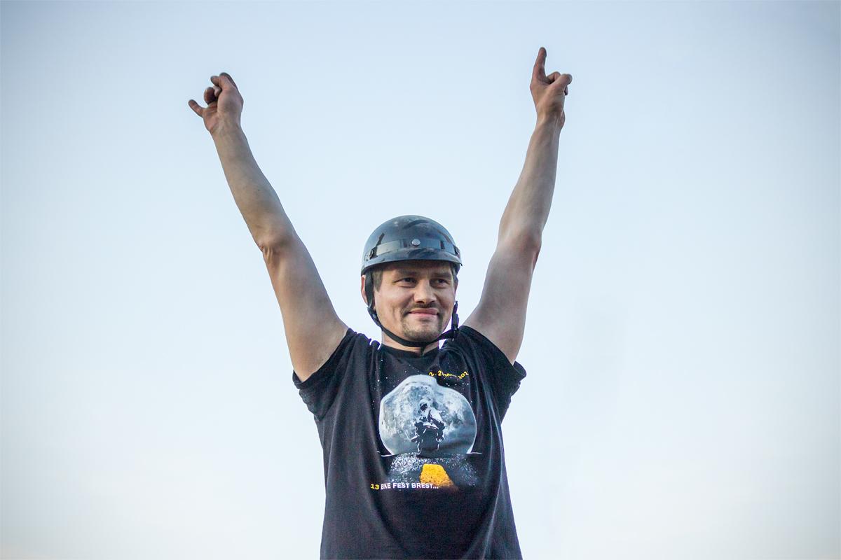 Олег Нестеров из Бреста одержал победу в «Автодерби»