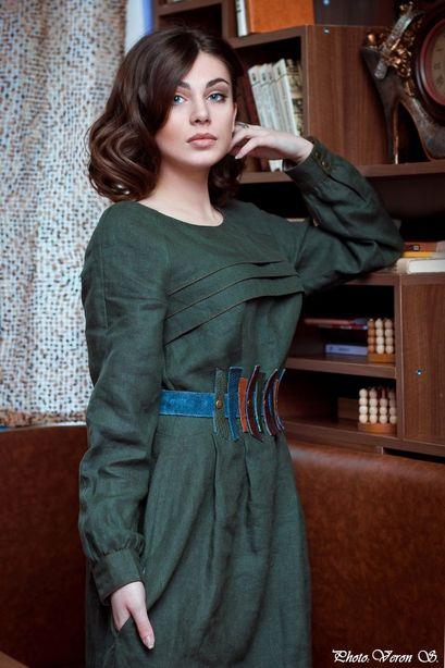 Платье. Модельер Екатерина Занько. Фото из архива мастера.
