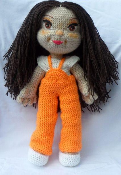 Вязаная кукла. Фото из архива мастера.